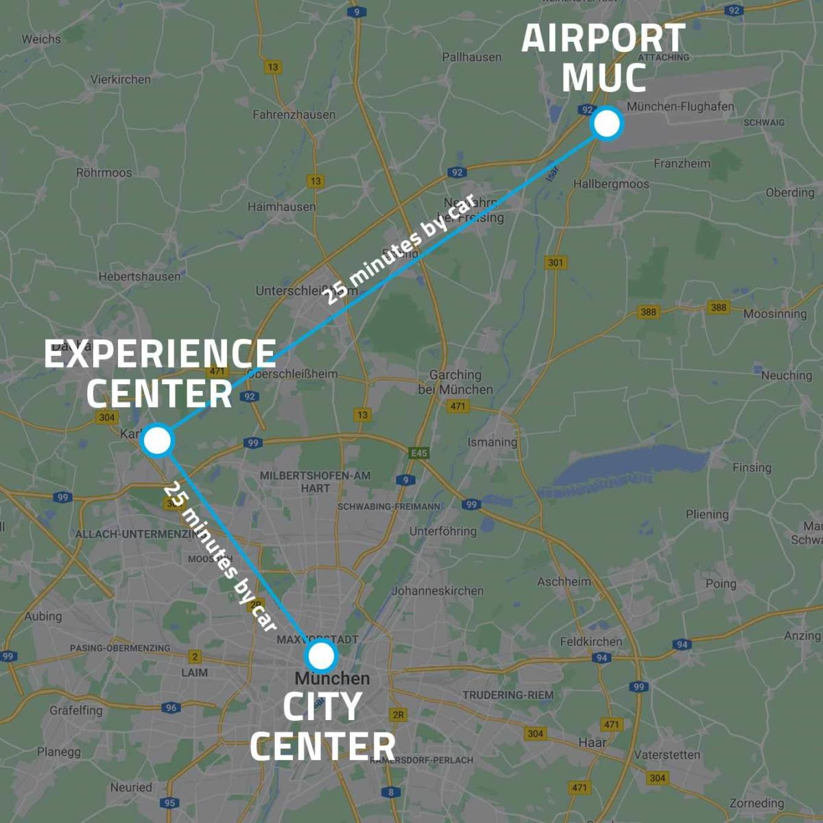 Map Experience Center website