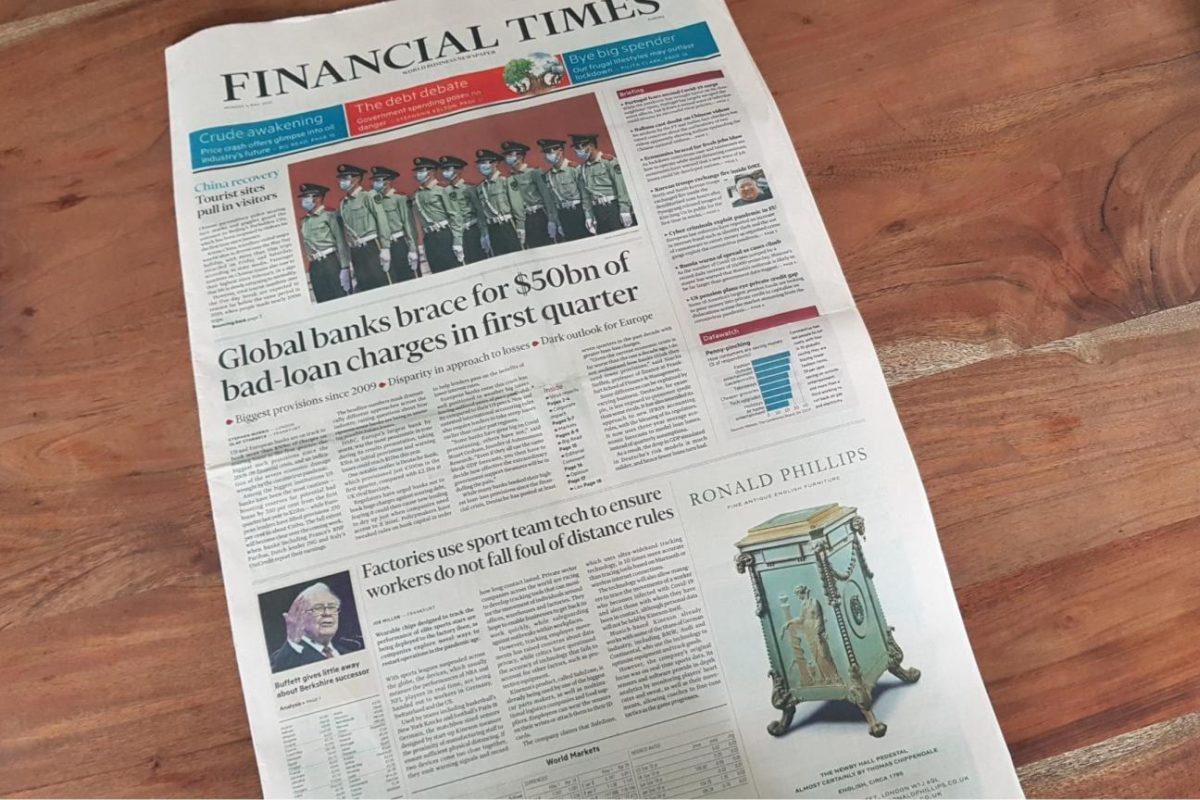 KINEXON Safe Zone Financial Times