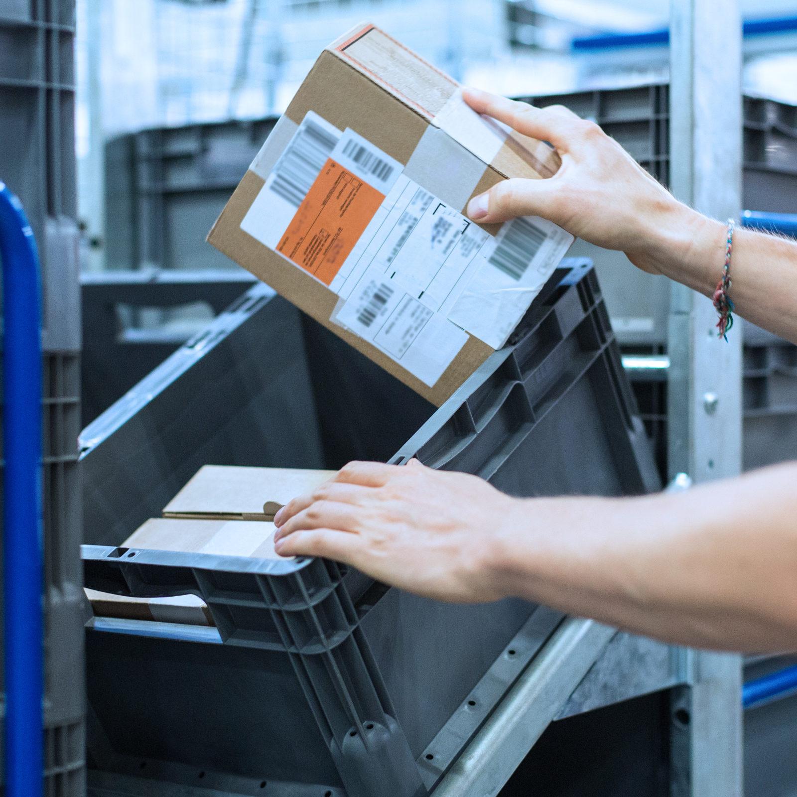KINEXON Industries Parcels Logistics