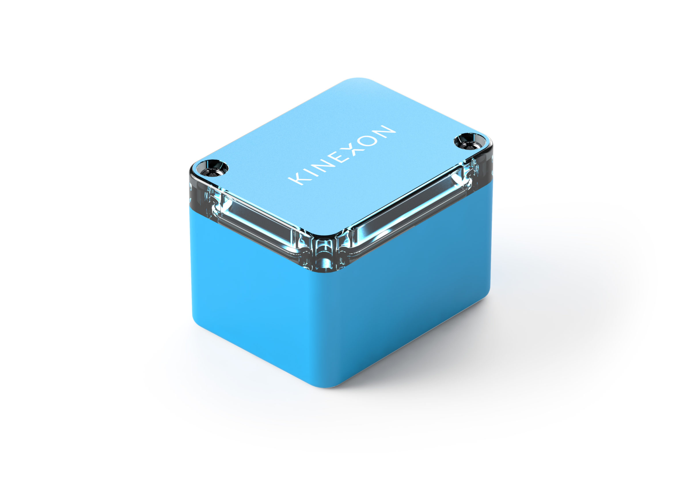 The KINEXON Move is a tag specifically designed for vehicles tracked or controlled through the RTLS.