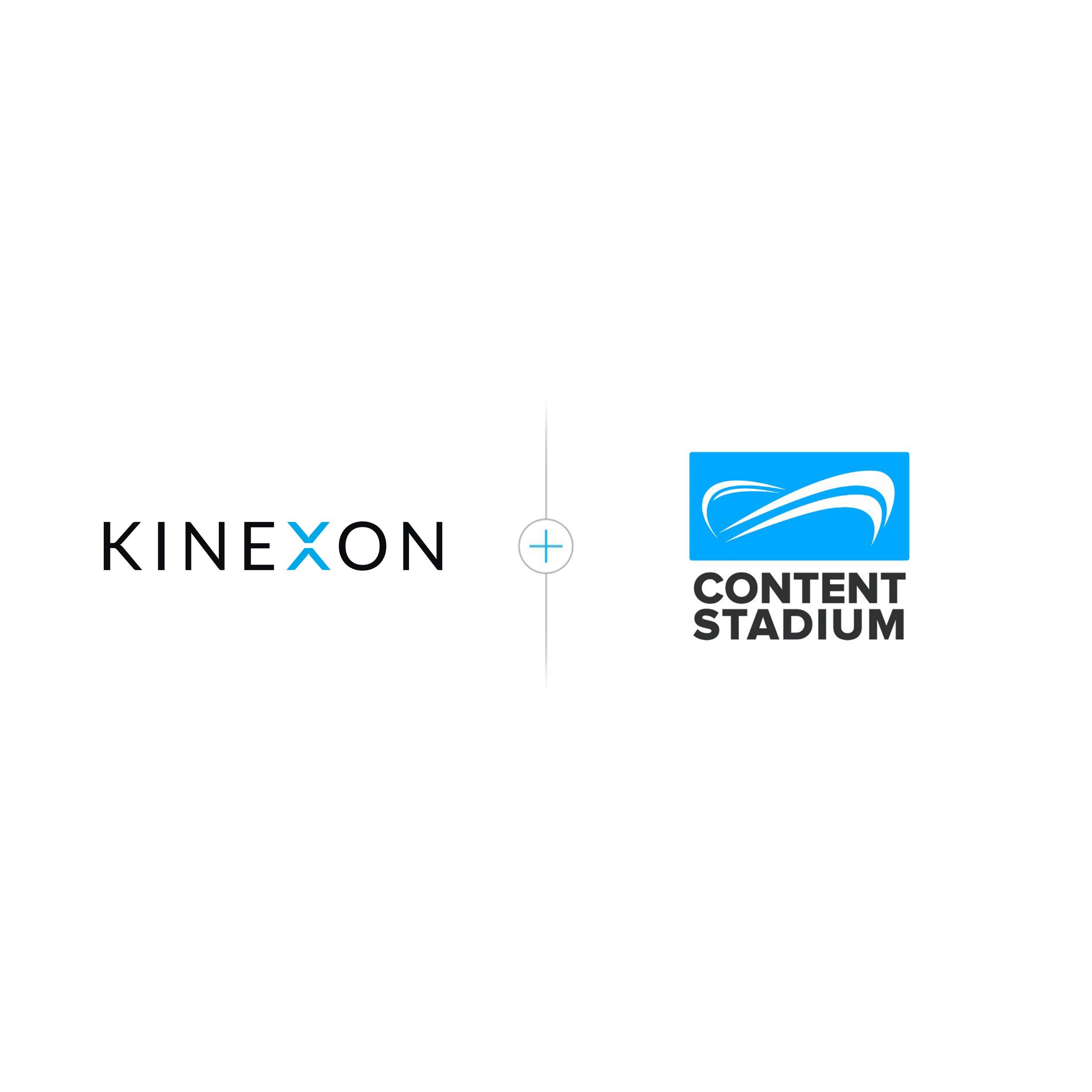 KINEXON x Content Stadium square