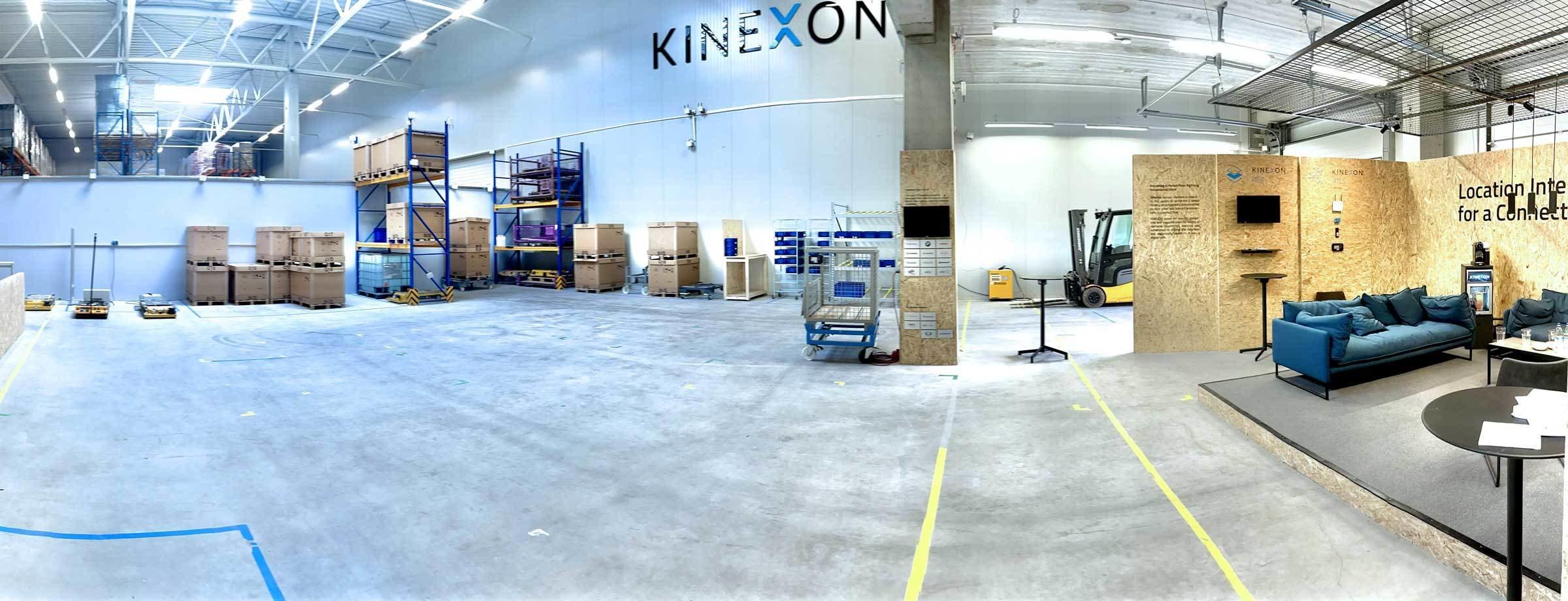 KINEXON experience center header website
