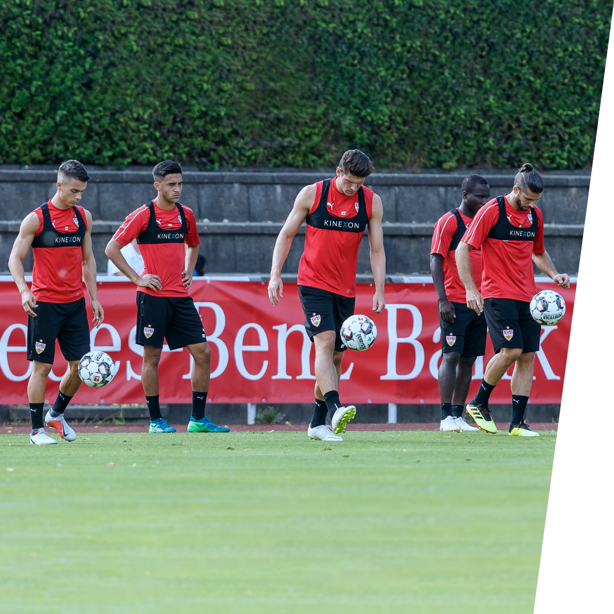 VfB Stuttgart Training Camp