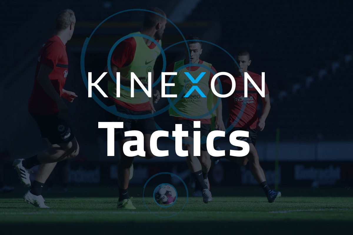 KINEXON Football Logos Tactics Background