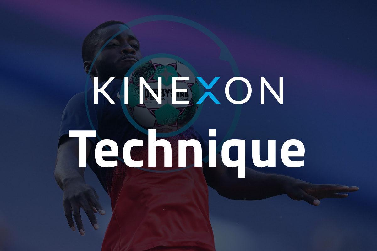 KINEXON Football Logos Technique Background