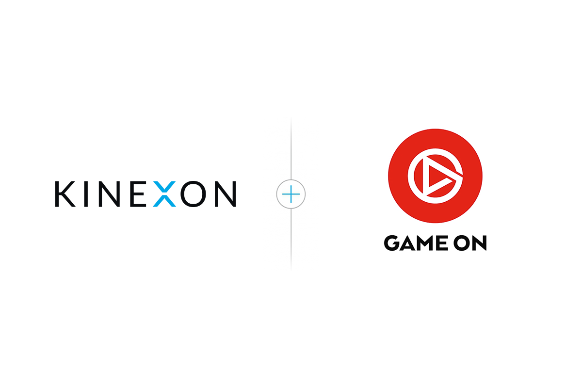 KINEXON Game On partnership