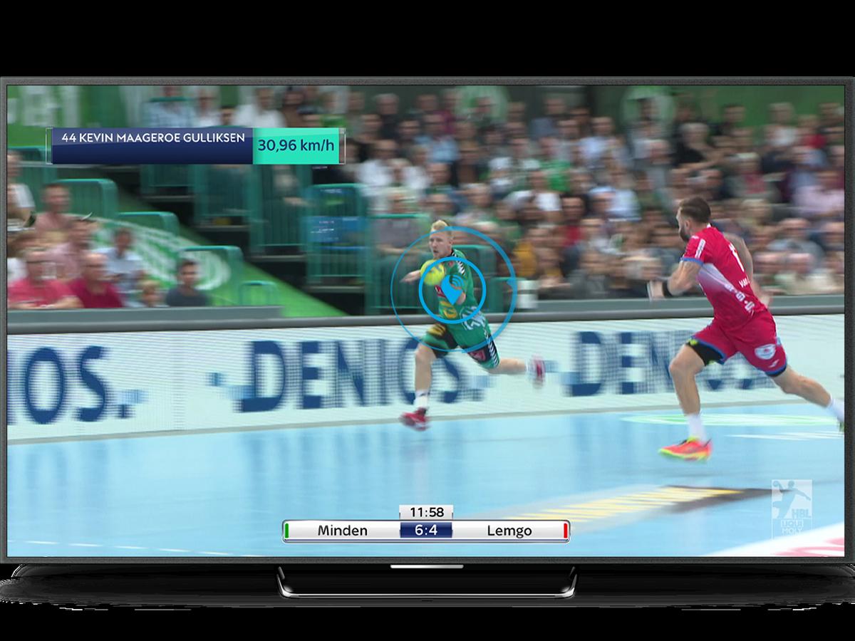 TV Mockup Handball website
