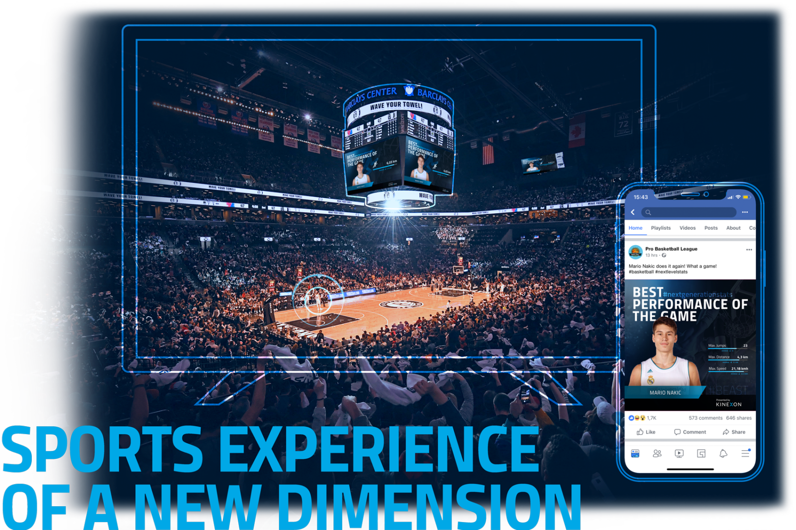 Sports Experience of a new dimension