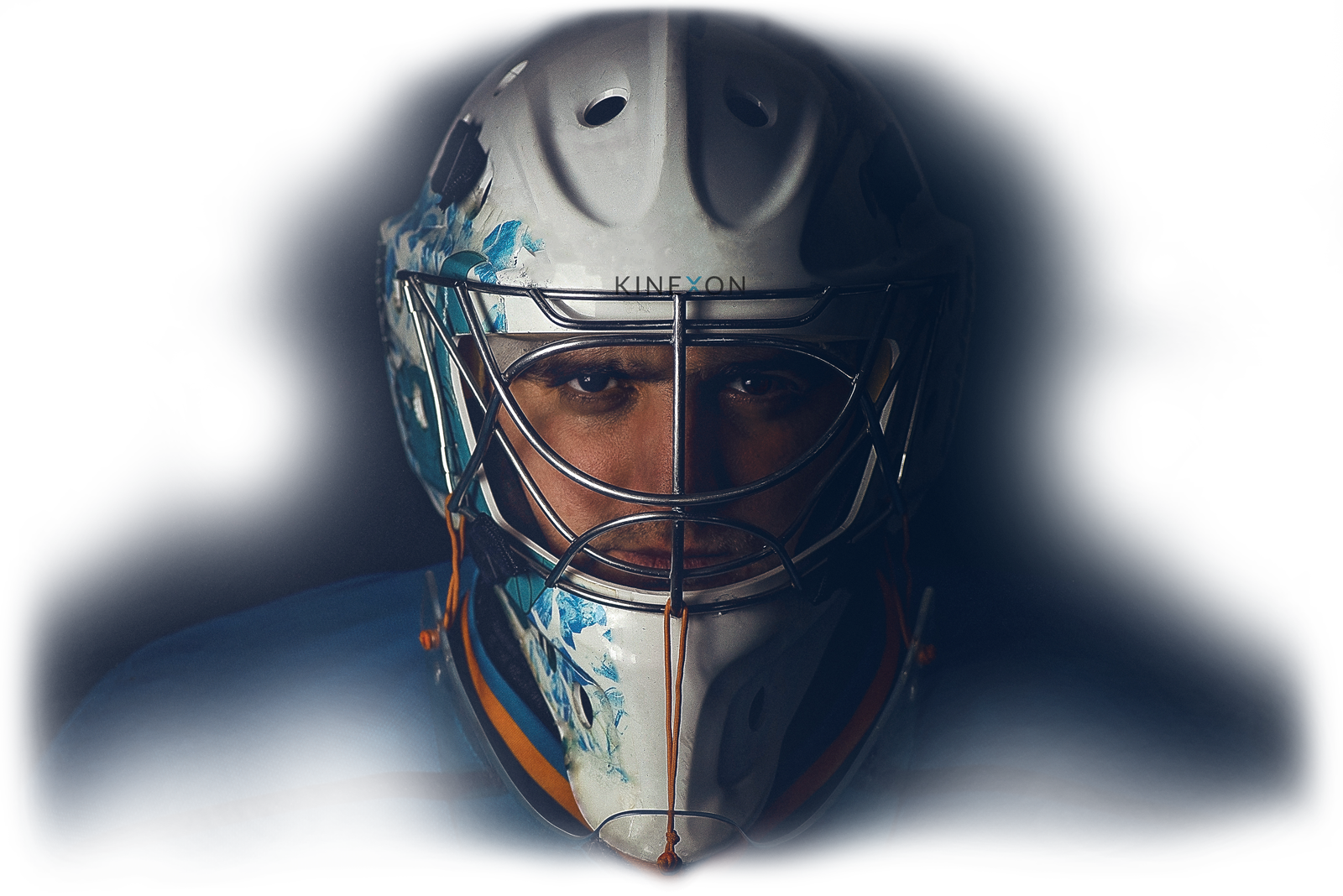 Ice Hockey Goalkeeper in the Mask