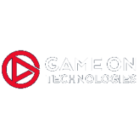 Game On Logo on dark background