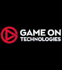Game On Logo on dark background