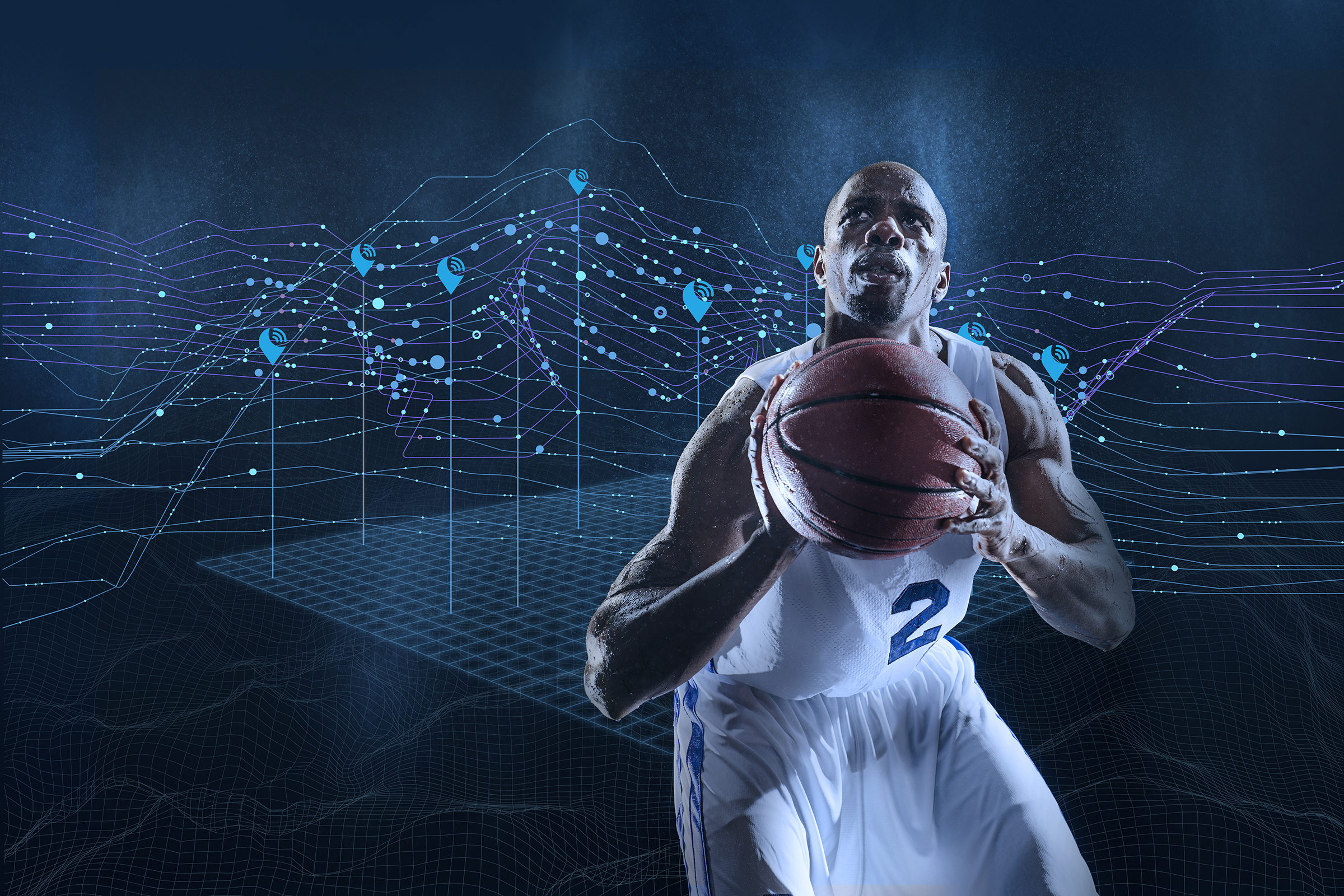 KINEXON Sports Analytics Basketball Player
