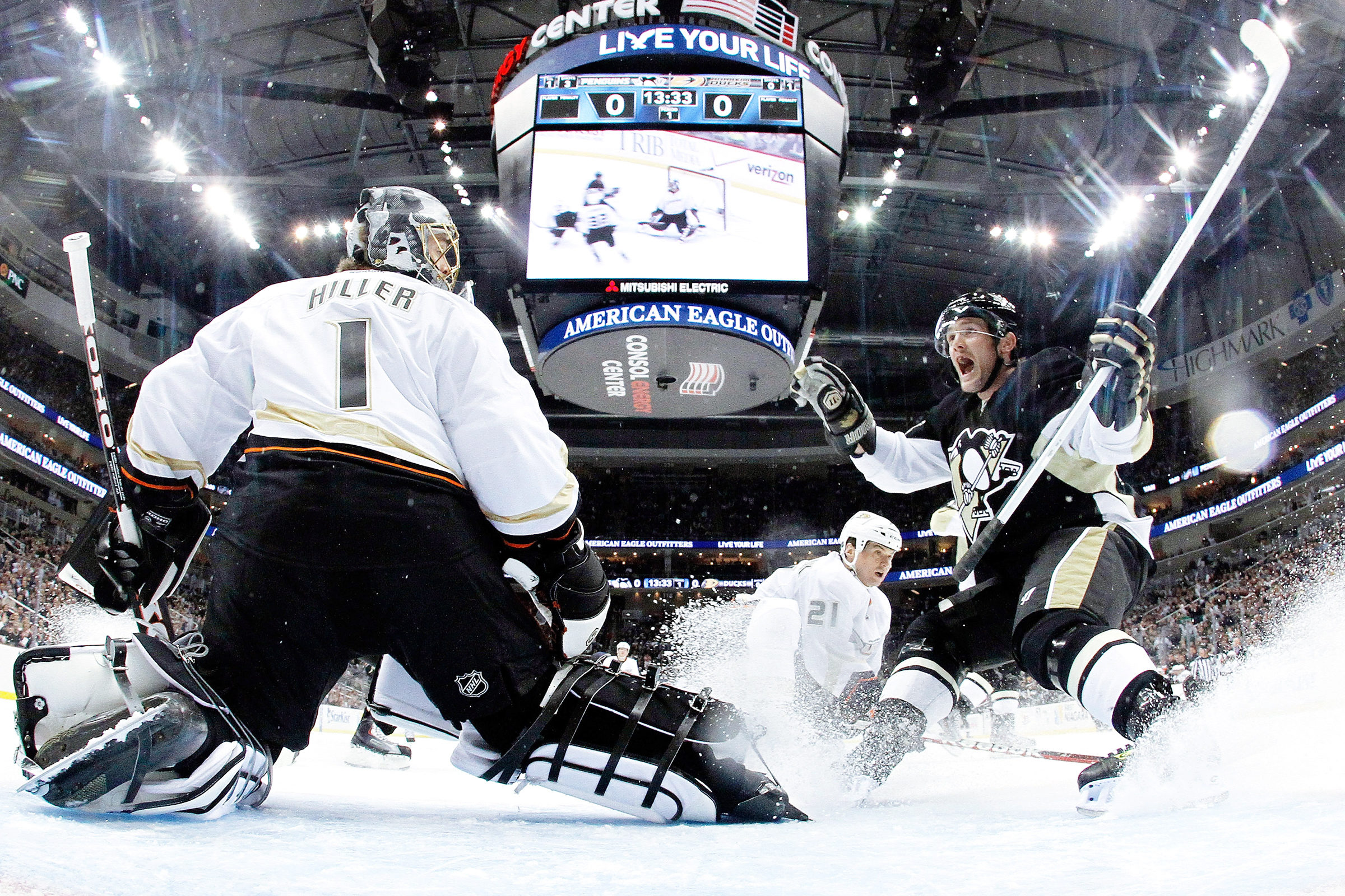 Anaheim Ducks gegen Pittsburgh Penguins