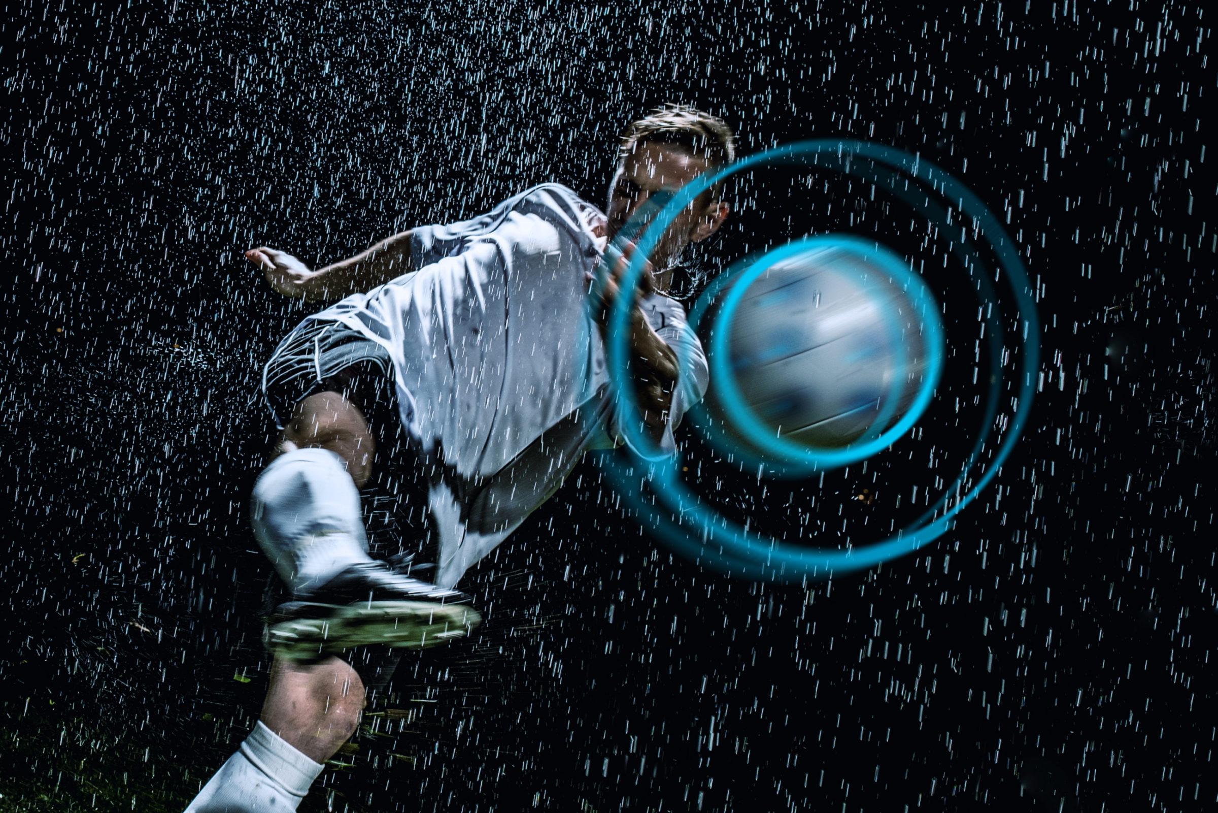 KINEXON soccer sports action
