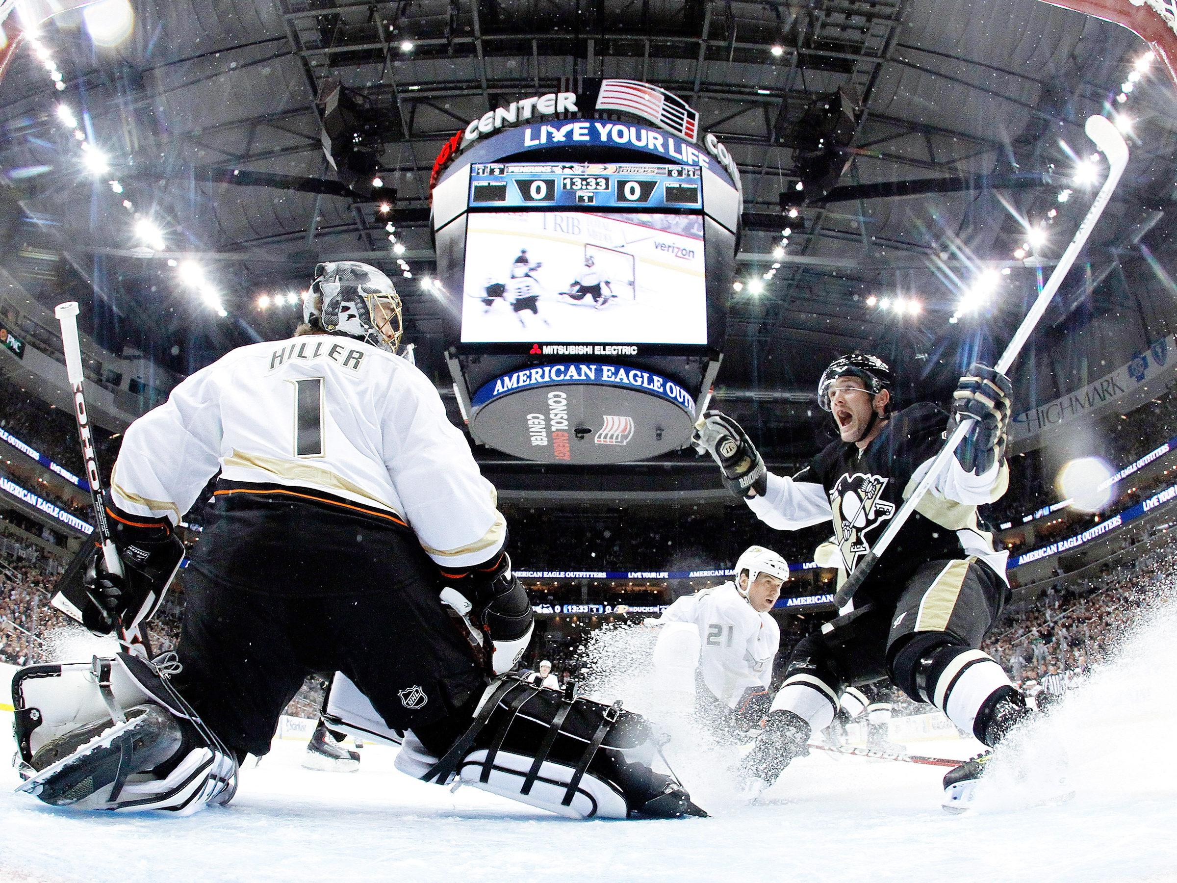 Anaheim Ducks gegen Pittsburgh Penguins