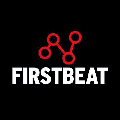 Firstbeat Logo on dark background