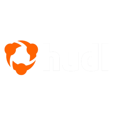 Hudl Logo on dark background