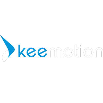 Keemotion Logo on dark background