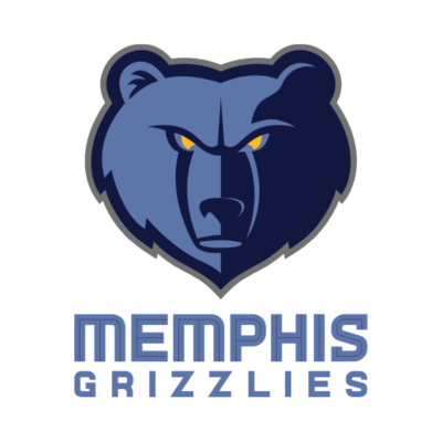 Memphis Grizzlies Logo dark Background Website
