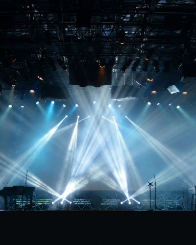 Lights on Stage