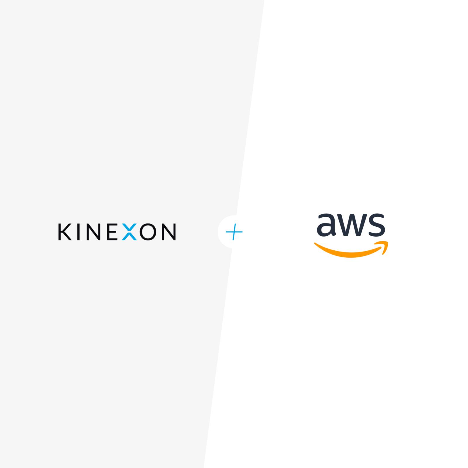 KINEXON X AWS website
