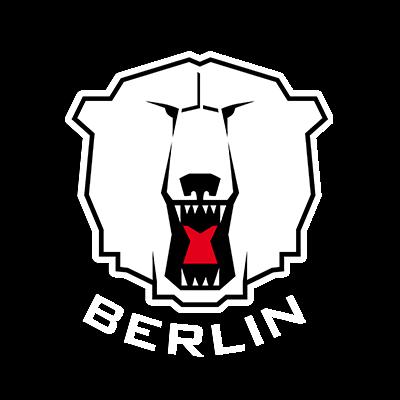 Eisbaeren Berlin Logo dark Background