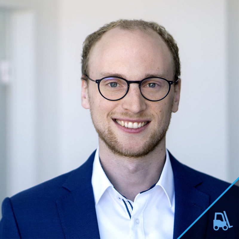 Sales & Partner Manager Max Rossdeutscher